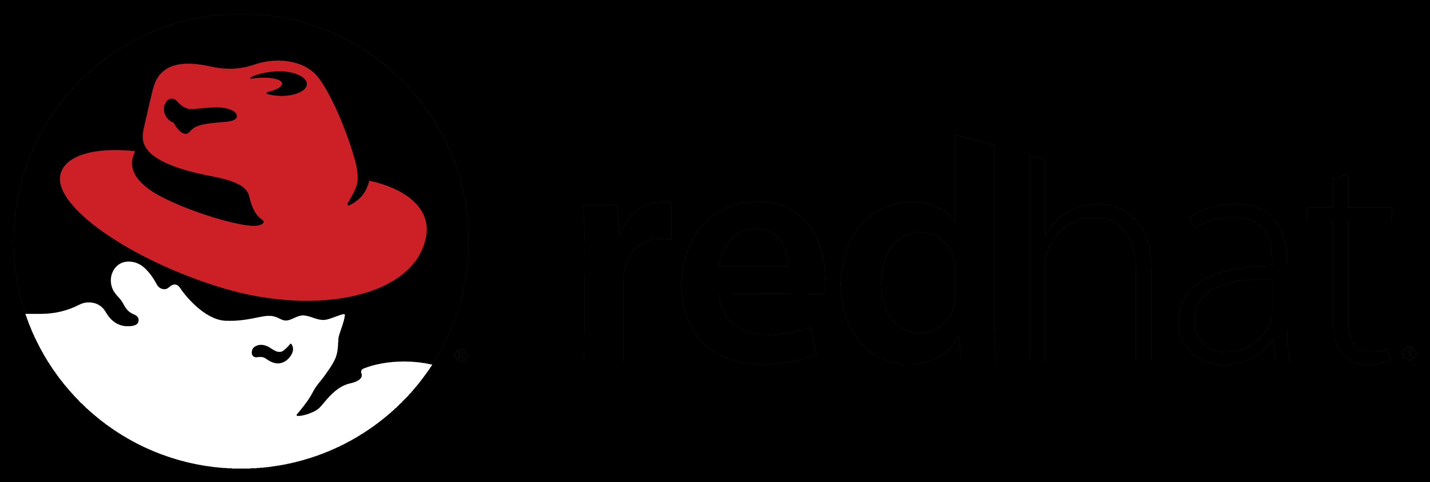 Image result for redhat logo transparent
